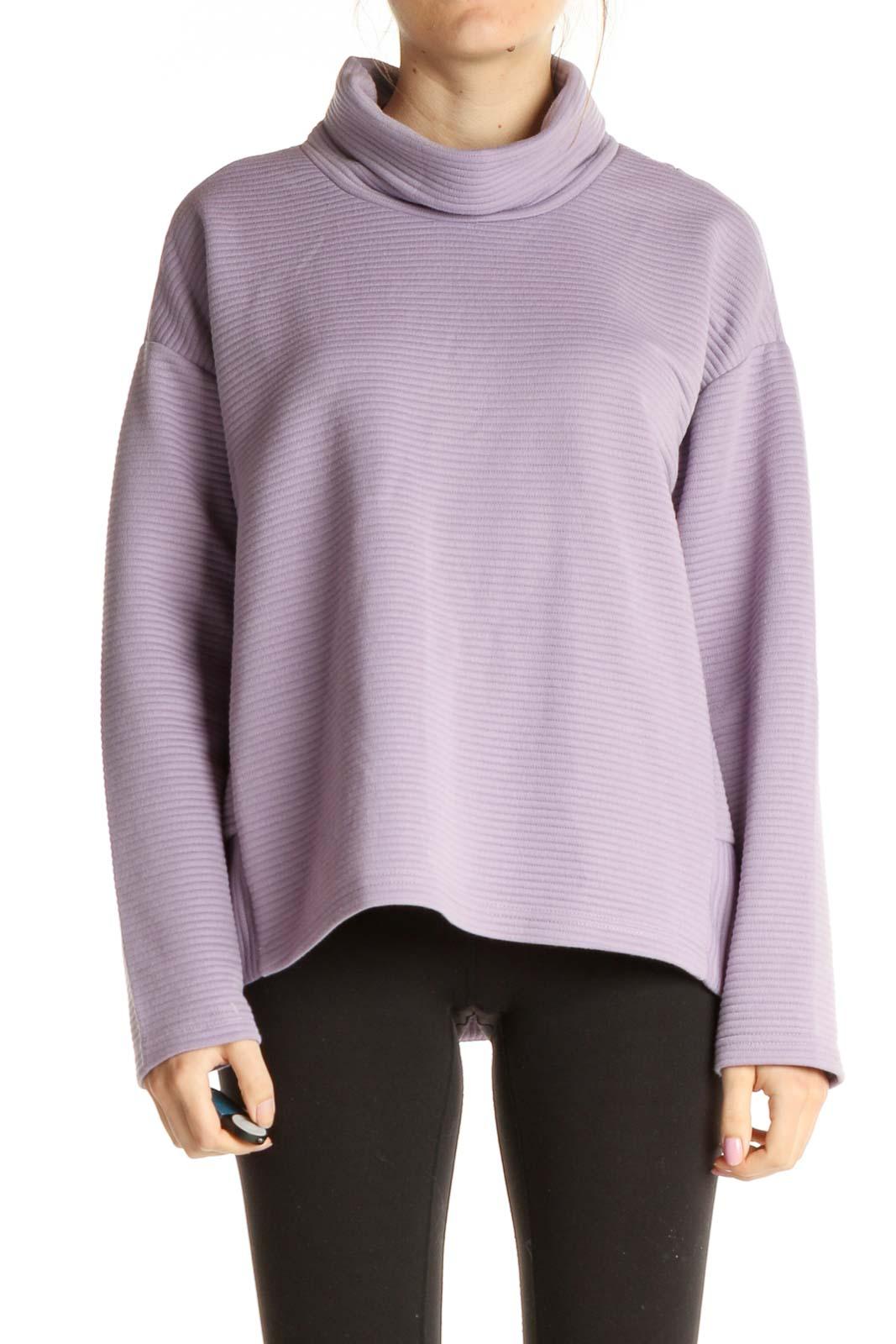 Purple Sweatshirt Front