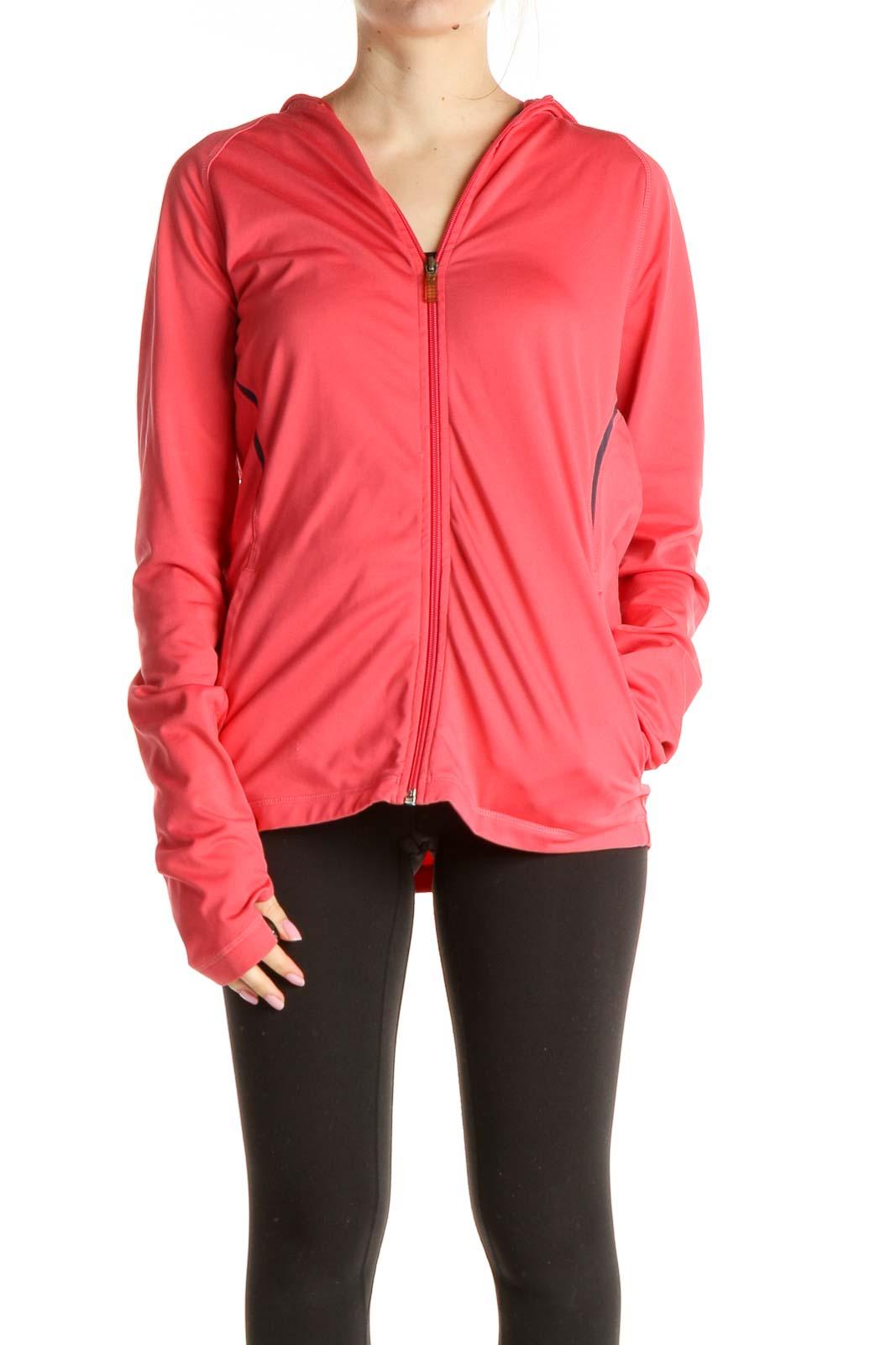 Pink Activewear Jacket Front