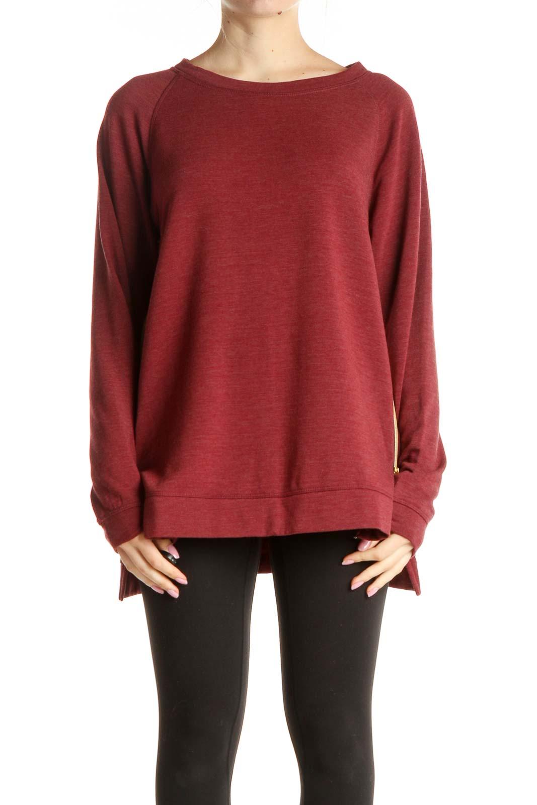 Red Sweatshirt Front