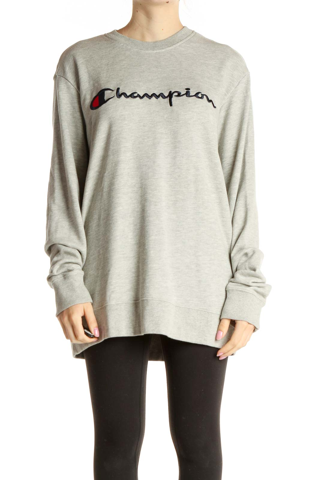 Gray Sweatshirt Front