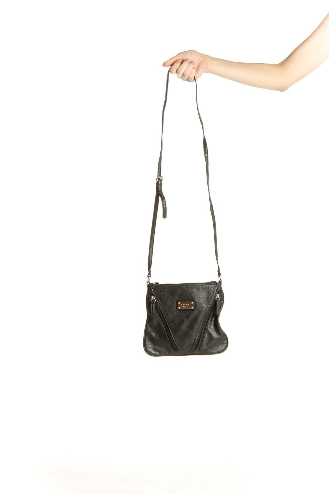 Black Crossbody Bag Front
