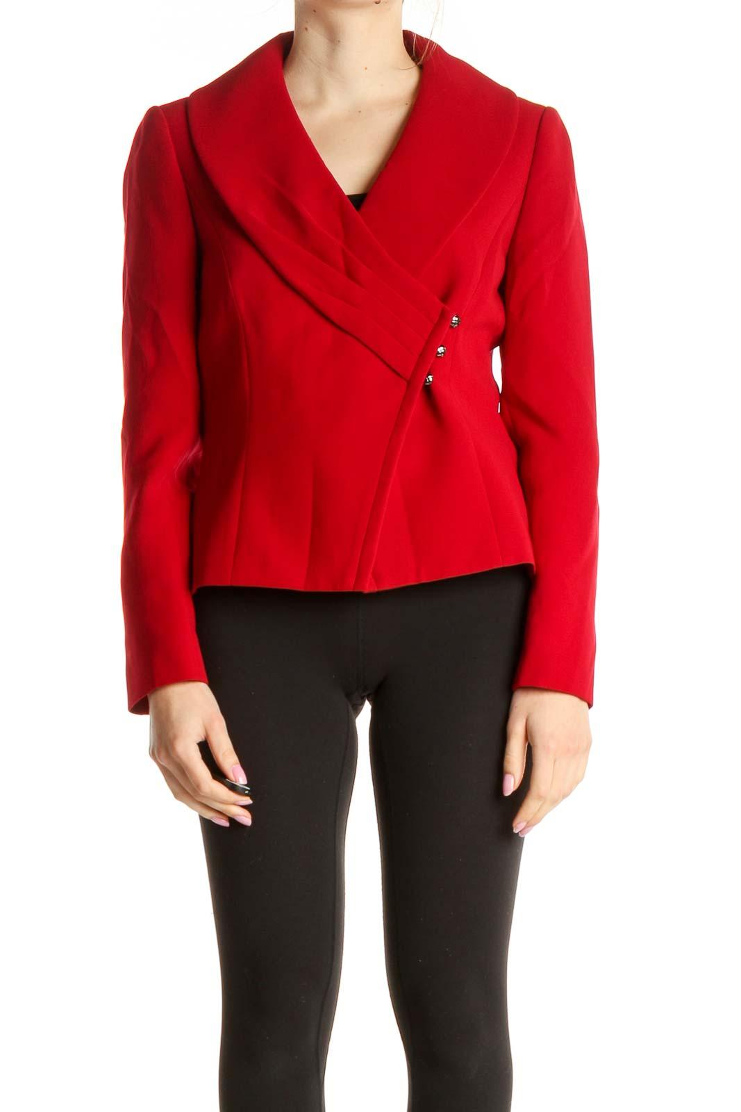 Red Blazer Front