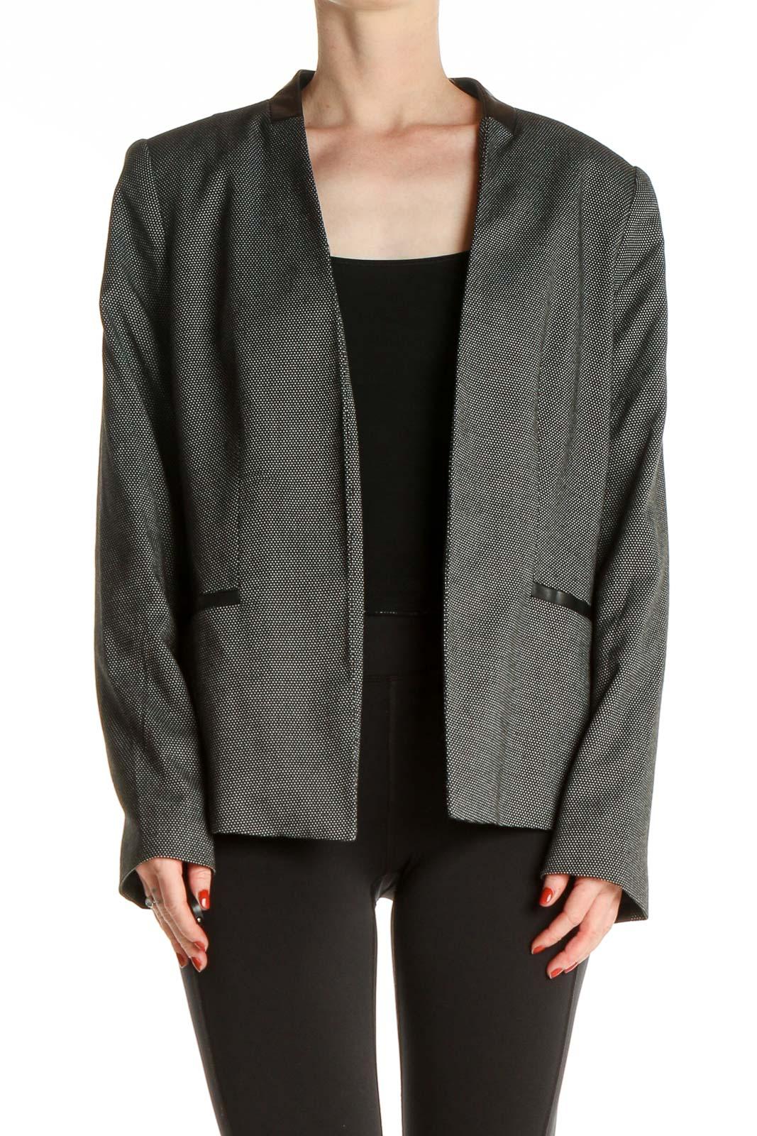 Gray Jacket Front
