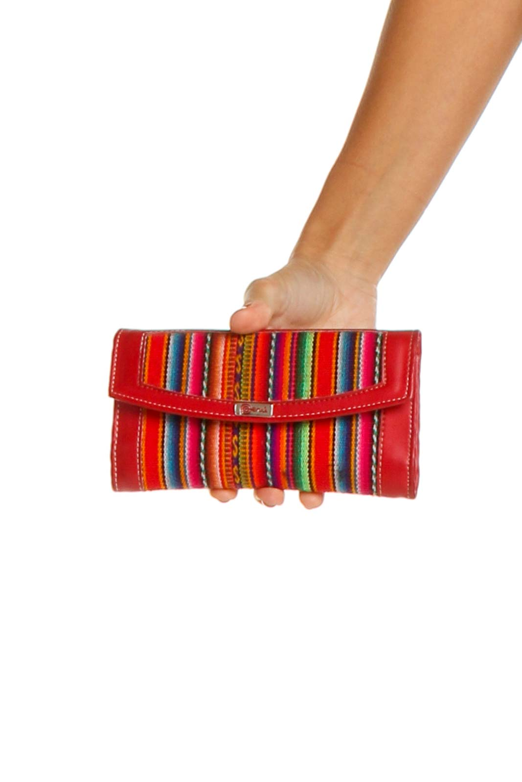 Red Clutch Front