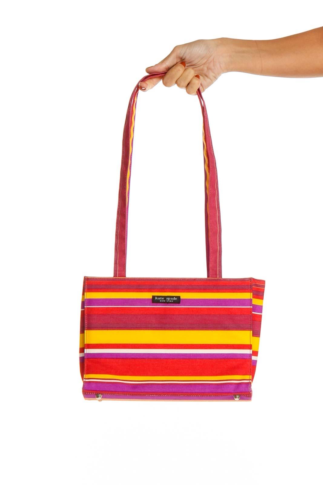 Multicolor Shoulder Bag Front