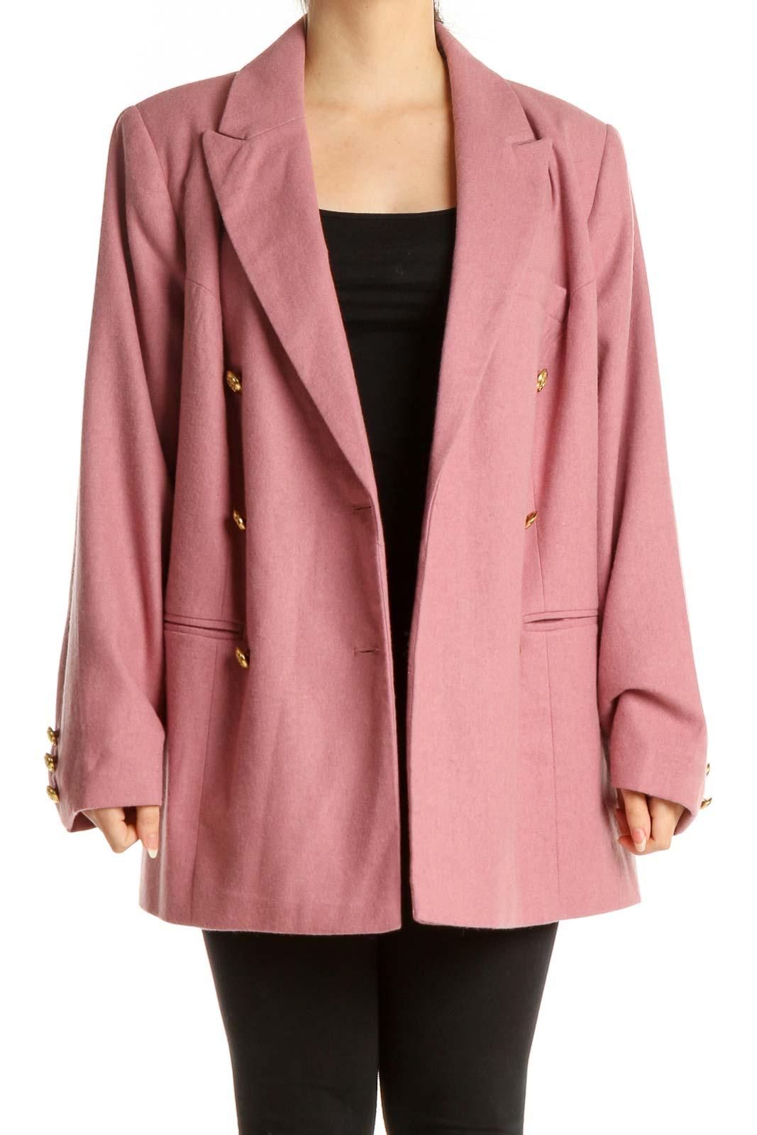 Pink Blazer Front