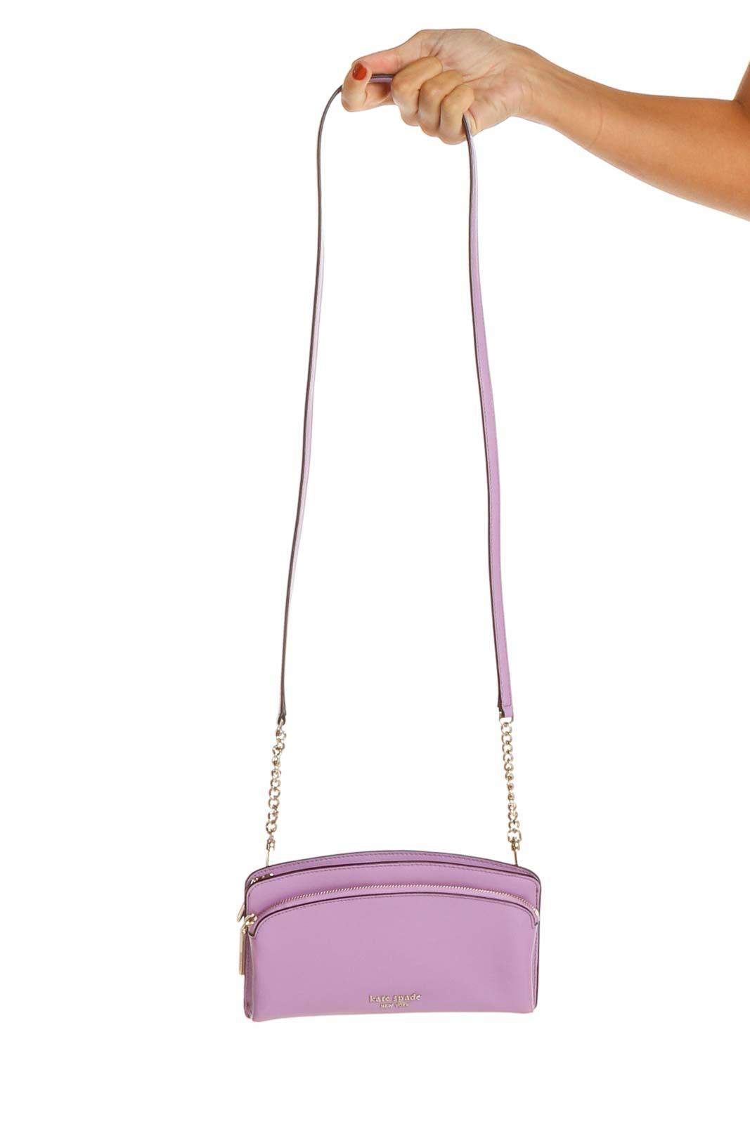 Purple Crossbody Bag Front